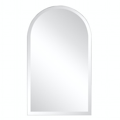 Small Arch Beveled Glass Mirror