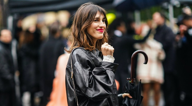Jeanne Damas Leather Jacket