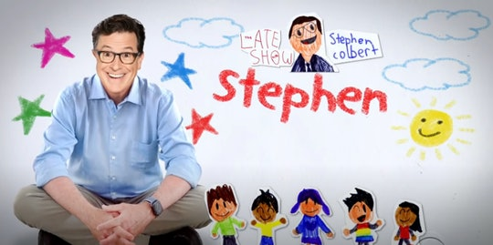 Stephen Colbert answered kids' election questions.