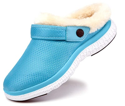 Hysooes Fleece Lined Clogs