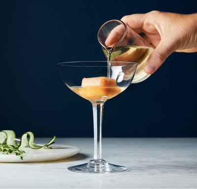 Herb & Lou Infused Cocktail Ice Cubes