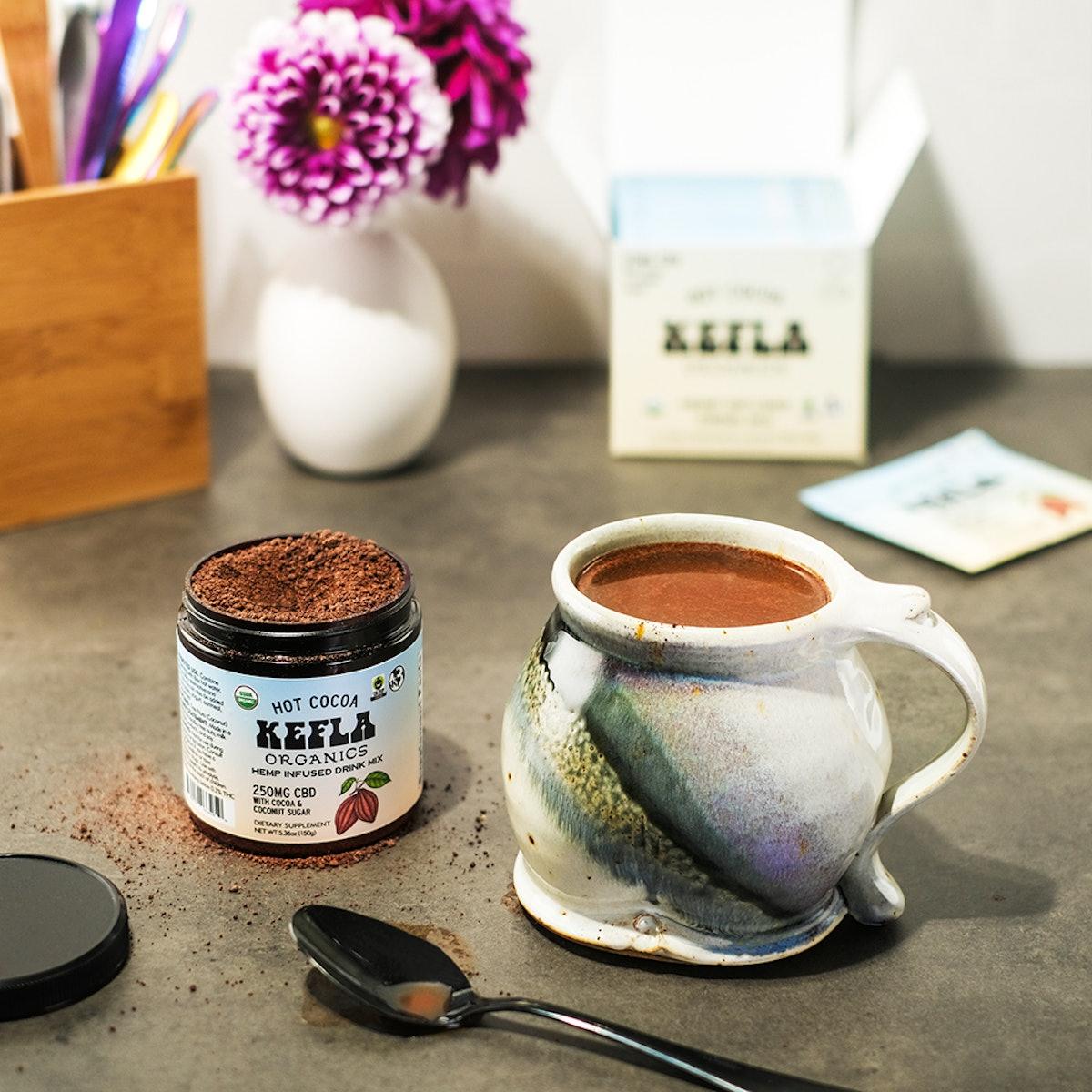 Kefla Organics CBD Hot Cocoa