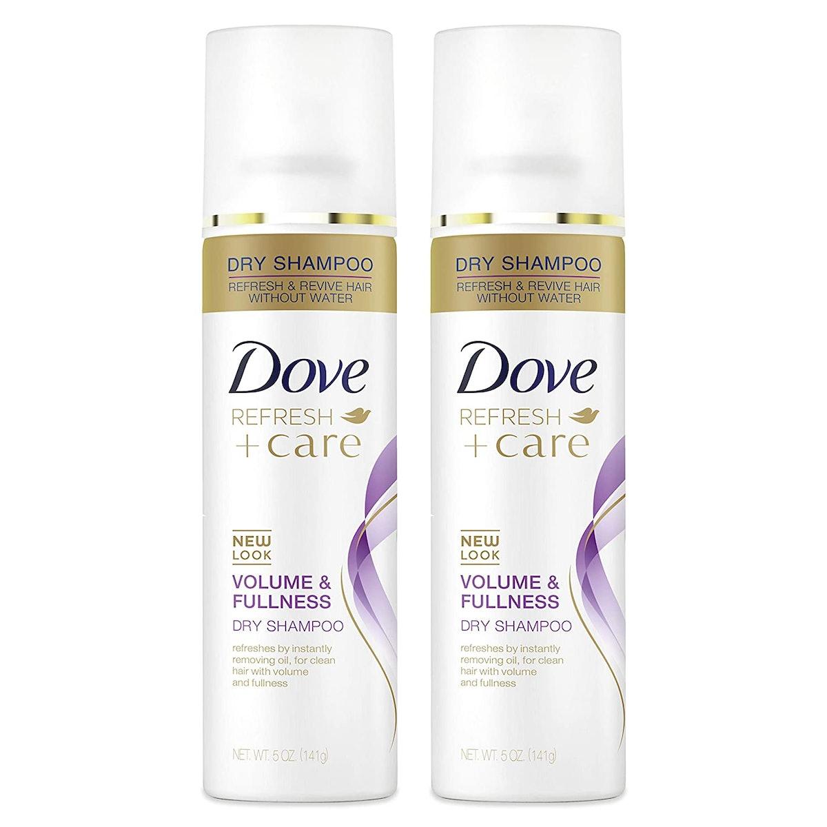 Dove Refresh + Care Volume & Fullness Dry Shampoo (2-Pack)