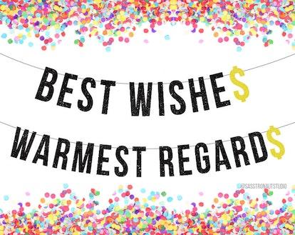 Best Wishes Warmest Regards - Banners!