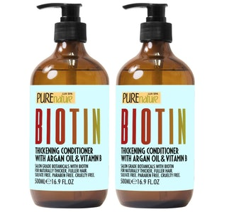 PURE NATURE LUX SPA Biotin Shampoo and Conditioner ​Set