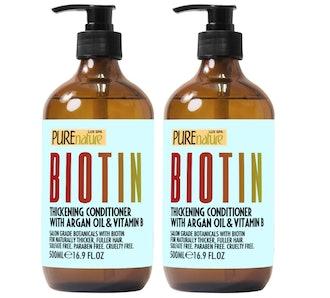 PURE NATURE LUX SPA Biotin Shampoo and Conditioner Set