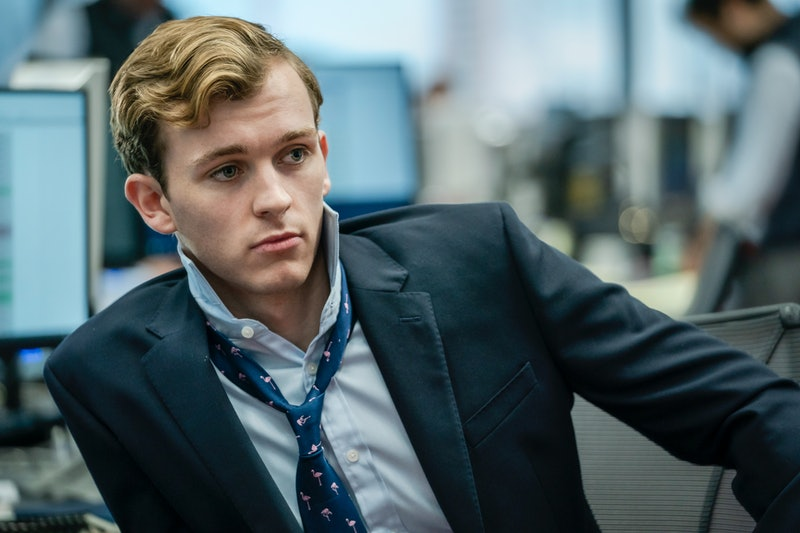 Harry Lawtey as Robert in HBO's 'Industry,' via HBO press site.