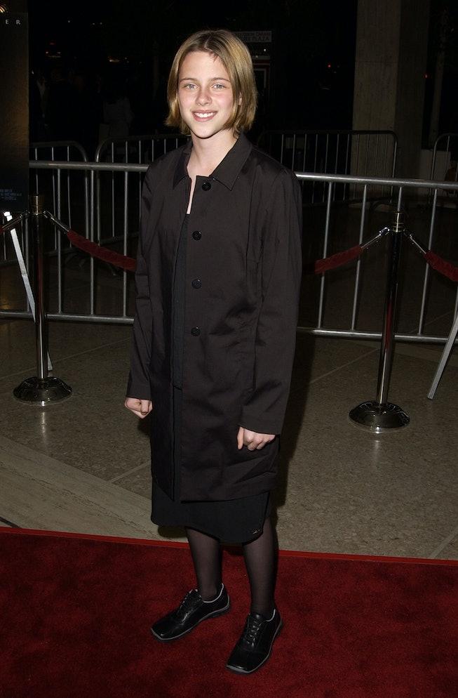 Kristen Stewart in 2002, Panic Room premiere