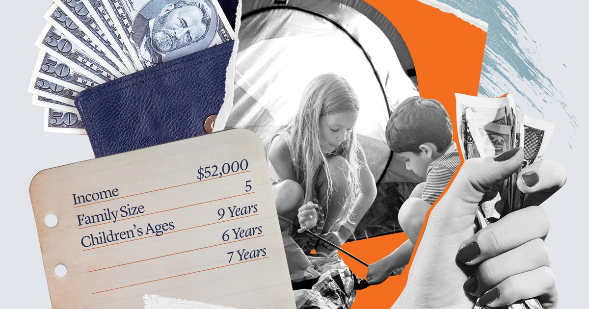 How Much A Family Making $52K/Year Spent To Become Bonafide Campers — Well, Sort Of