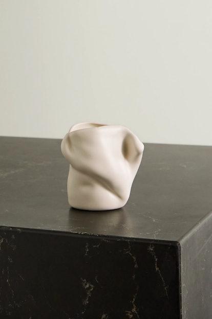 katerina Bazhenova Yamasaki Postures Small Ceramic Vase