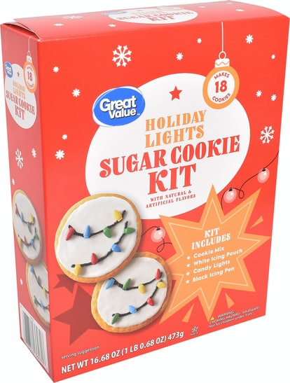 Great Value Holiday Christmas Lights Sugar Cookie Kit