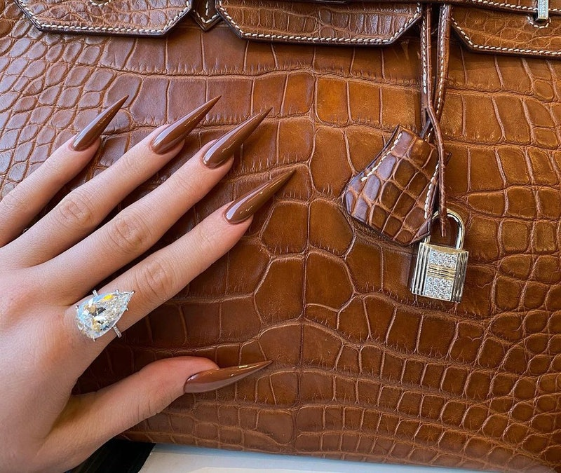 This winter, nail trends will reflect the fierce lengths of Kylie Jenner's, the opaque softness of Bella Hadid's, and more