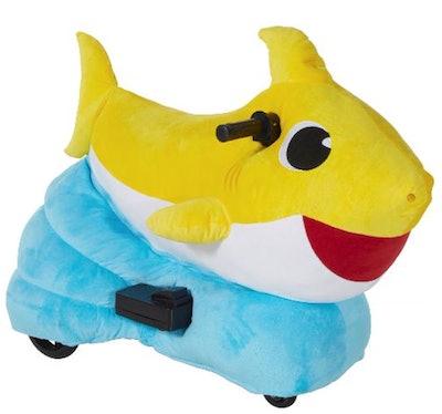 Dynacraf 6V Baby Shark Plush Ride-On