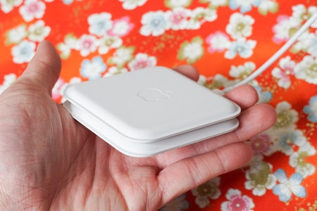 It is a nice 2-in-1 accessory that folds in half into a compact charger, though.