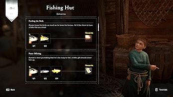 assassins creed valhalla fishing hut
