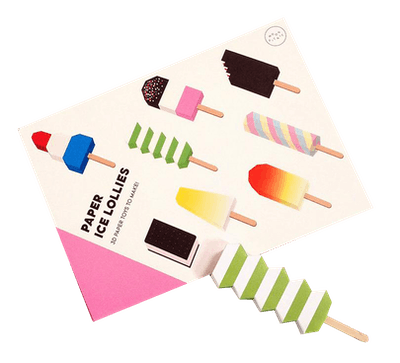 Moon Picnic Paper Ice Lollies Craft Kit (4+)