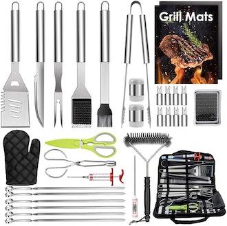 HaSteeL Grill Accessories Set (32-Pieces)