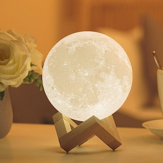 Eglued Moon Lamp with Stand
