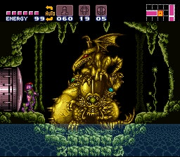 One of the game's many astonishing bosses