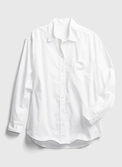 Big Shirt In Poplin