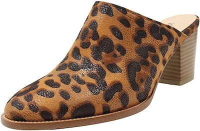 MAYPIE Chunky Heels Mules