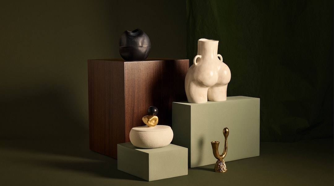 Net-A-Porter's new lifestyle section includes decorative objects like vases