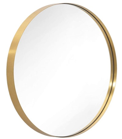 ANDY STAR Gold Round Mirror
