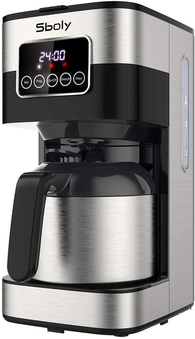 Sboly Programmable Coffee Maker With Thermal Carafe