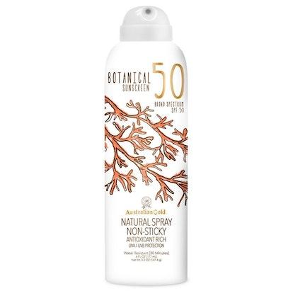 Australian Gold Botanical Sunscreen Natural Spray