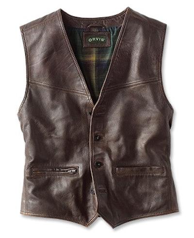 Powderhorn Leather Vest