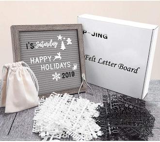 P-Jing Felt Letter Board