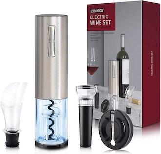 EZBASICS Electric Wine Bottle Opener