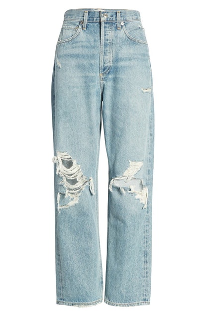'90s Ripped Loose Fit Jeans
