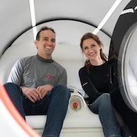 Virgin Hyperloop: first two passengers ride in historic test