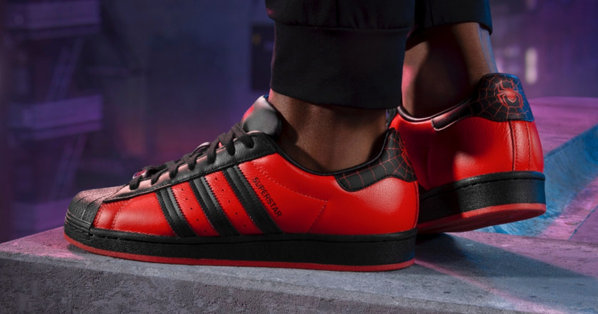 Adidas celebrates 'Spider-Man: Miles Morales' with special Superstar sneakers