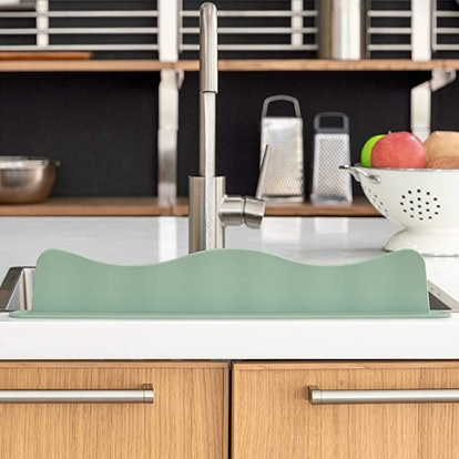 Blue Ginkgo Sink Splash Guard