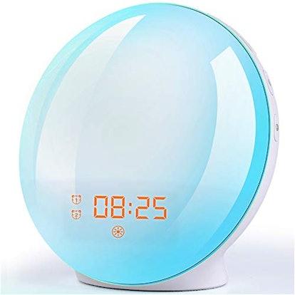 FITFORT Wake Up Sunrise Alarm Clock