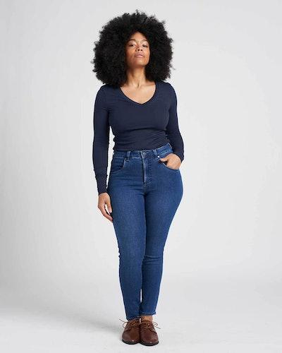 Seine High Rise Skinny Jeans 27 Inch