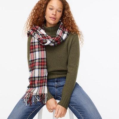 Mockneck Sweater in Supersoft Yarn