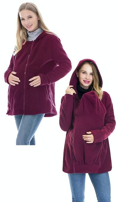 Smallshow Fleece Zip Up Jacket