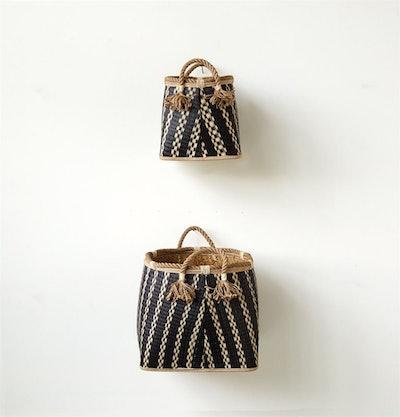 Wicker Baskets, Set of 2