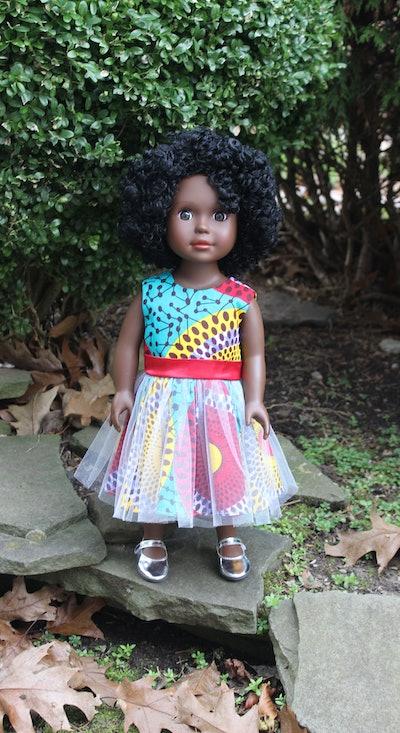 Dark Brown Skin Tone Doll