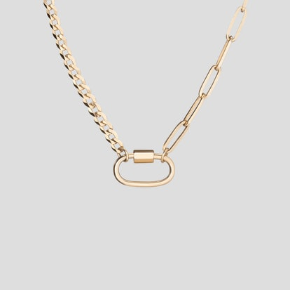 AURATE X KERRY: Lioness Chain Necklace