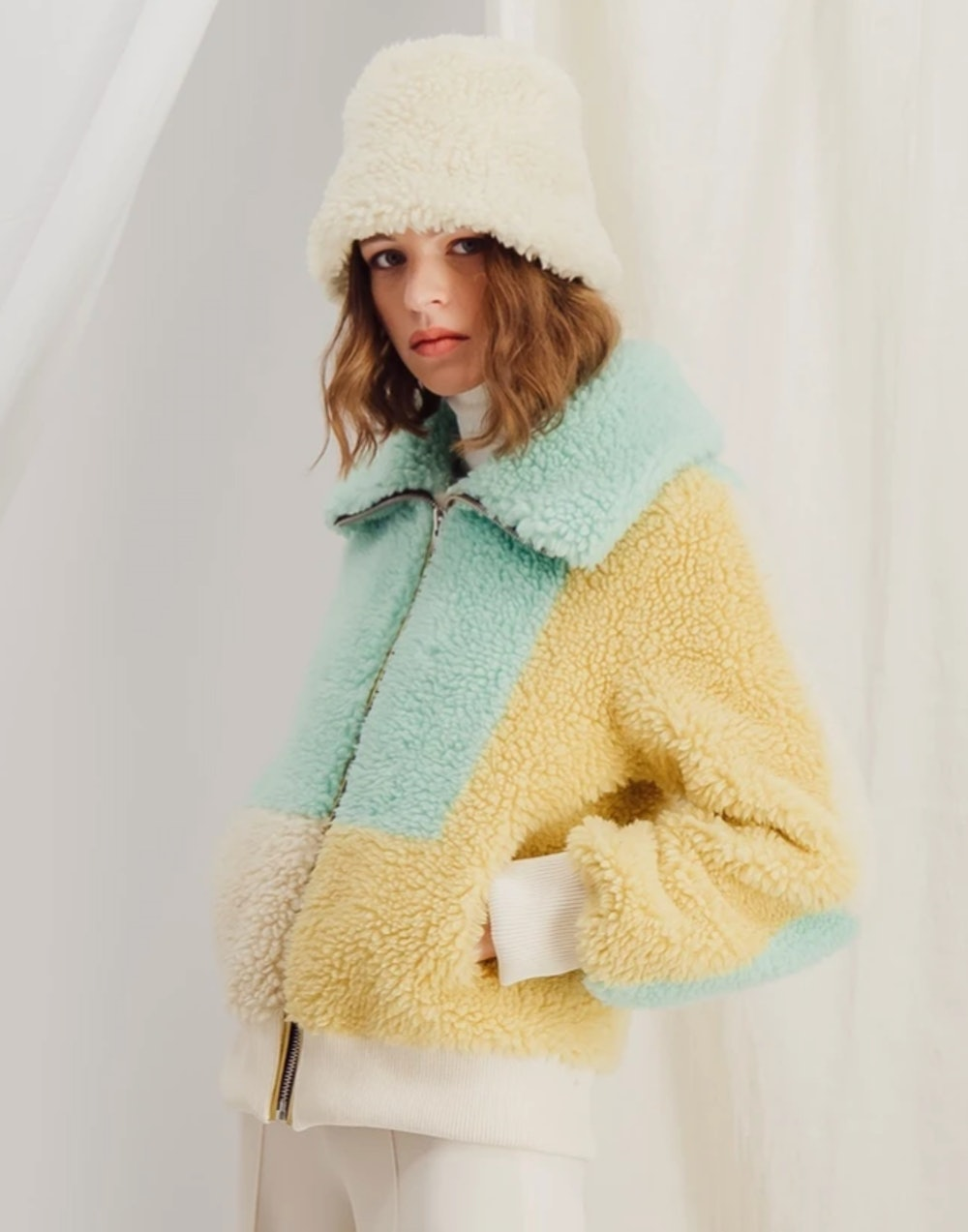 Adele - Sustainable Faux Fur Bombers