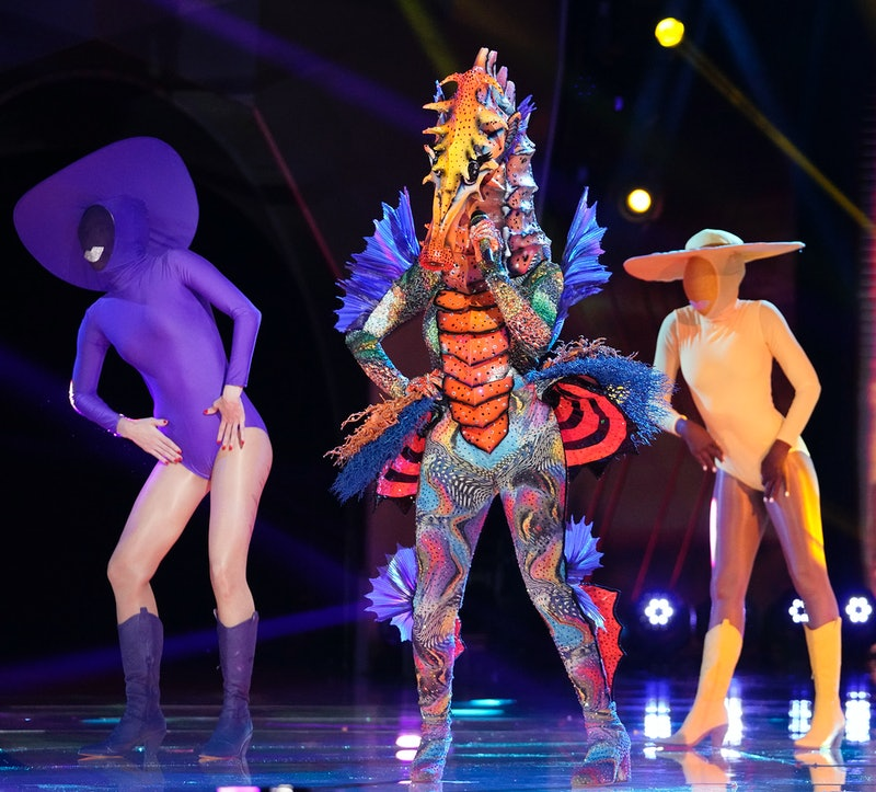 Seahorse performing in the 'Masked Singer' semifinals, via Fox press site.