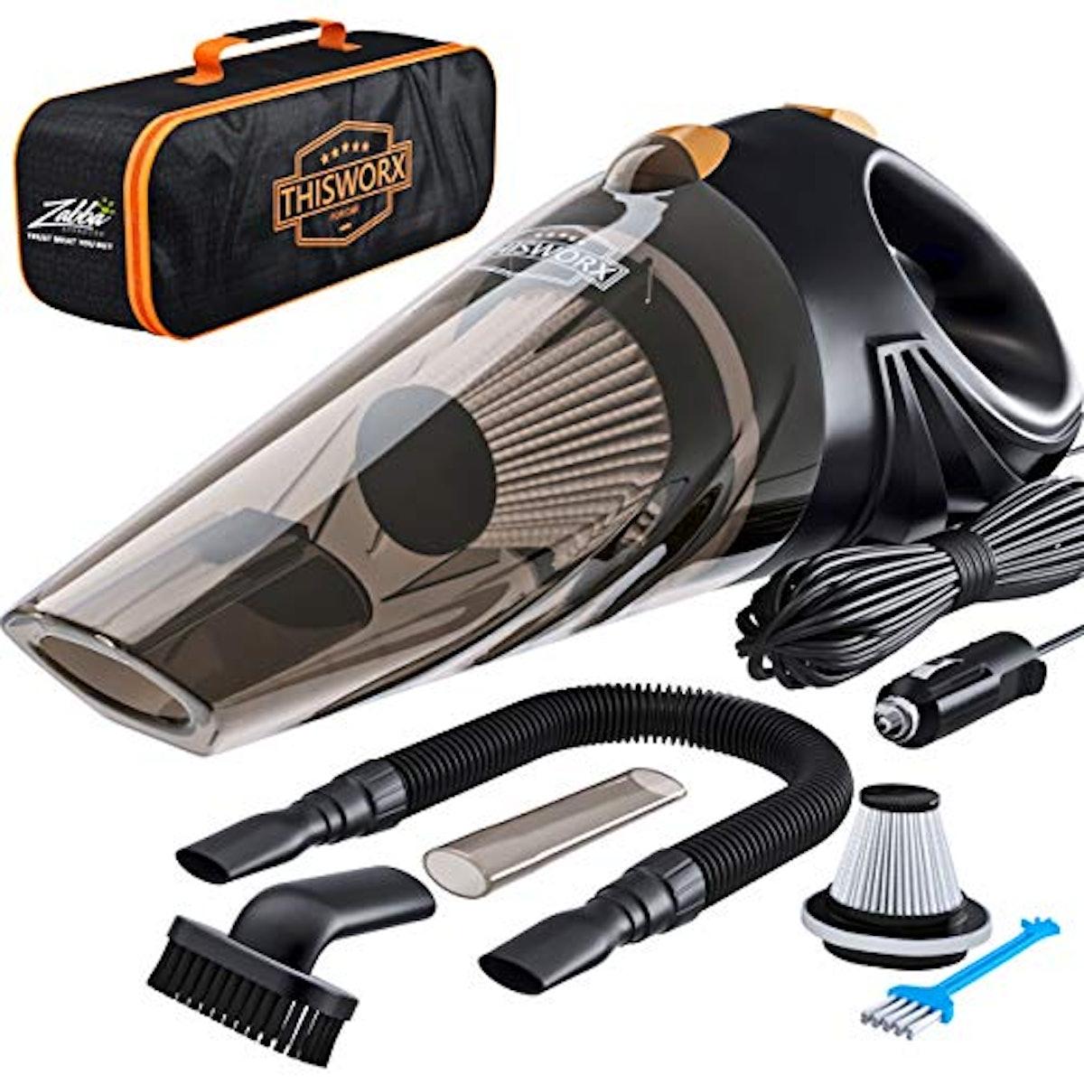 ThisWorx Portable Car Vacuum Kit
