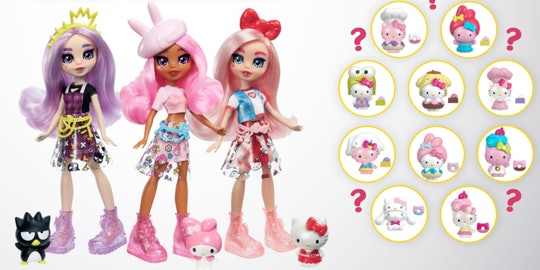 the mattel x hello kitty & friends collab toys