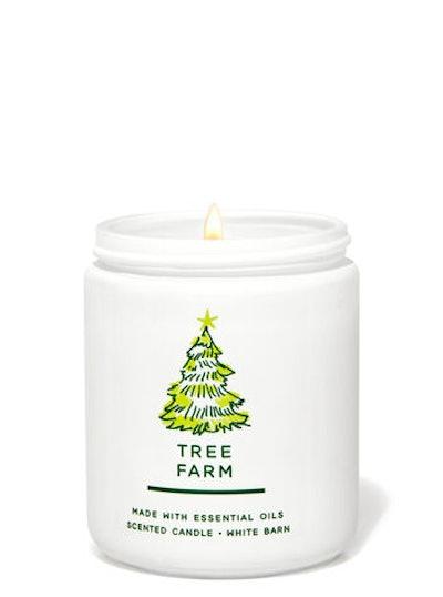 Tree Farm Single Wick Candle