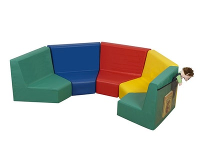 Primary Kids Seating Modular Set