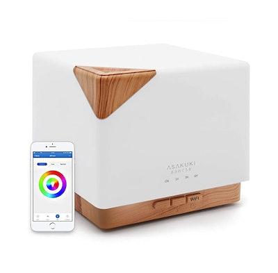 ASAKUKI Smart Wi-Fi Essential Oil Diffuser